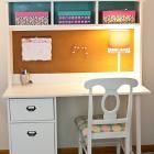 Build a Schoolhouse Desk Hutch | Free and Easy DIY tutorial