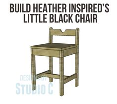 Little Black Chair