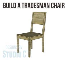 Build a Tradesman Chair