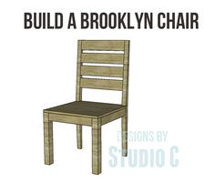 free plans - Brooklyn chair