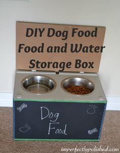 DIY DOG FOOD STORAGE