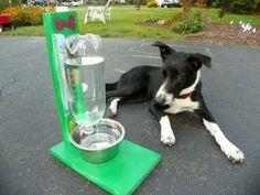 DIY Self-Filling Pet Water Bowl