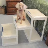 DIY Tall Dog Stairs for about $40