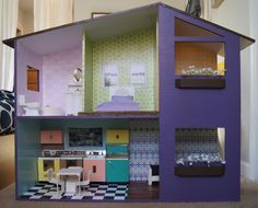 Mod doll house plans
