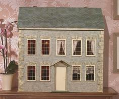 How To Wallpaper a Doll House