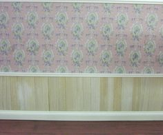 Wood panel your Dolls' house