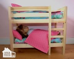 Doll Bunk Beds - American Girl Doll