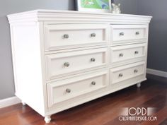 madison dresser tutorial