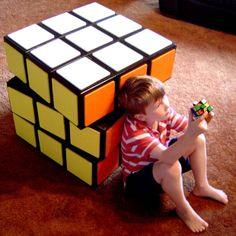 tutorial: Rubik's cube chest of drawers