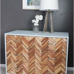tutorial: Parquetry Dresser Herringbone Chest