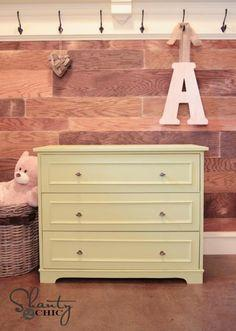 Fillman Dresser or Changing Table tutorial