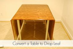 Studio Update, Part 14: Converting My Sewing Table to Drop-