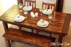 detailed diy dining table plans