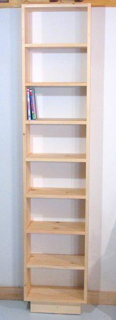 Building a bookcase for DVDs