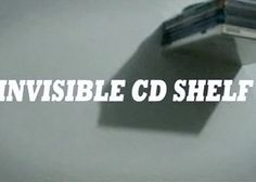 How To Make an Invisible CD Shelf