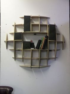 How to Make A CD Rack!