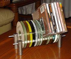 CD Rack From Old CDs – Tutorial