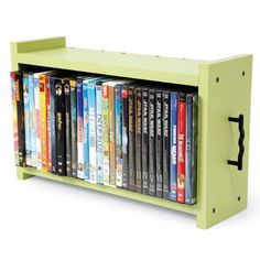 Cache-and-Carry DVD Storage