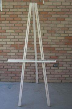 Build your easel the cheap way