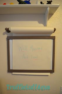 Wall Mounted Art Easel
