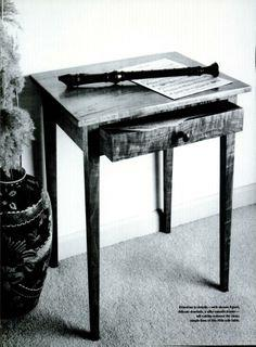 Cherry End Table plans