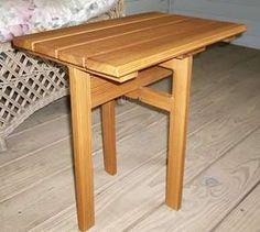 Building a Small Folding Table