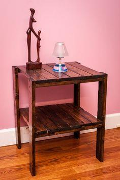 Side Table - Pallet Wood