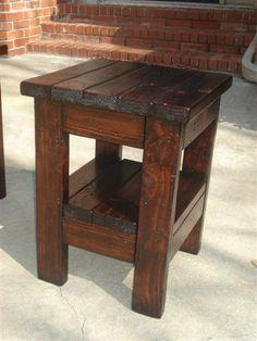 Free Woodworking Plans For End Tables