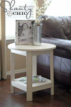 BENCHRIGHT ROUND END TABLE Plans