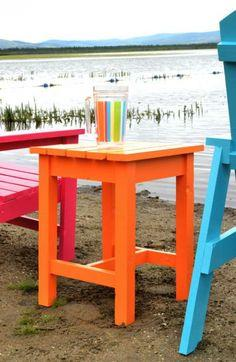 ADIRONDACK STOOL OR END TABLE Plans