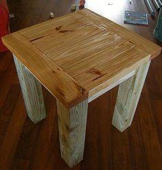 TRYED SIDE TABLE