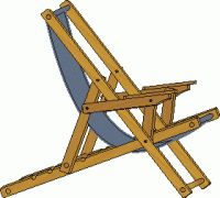 25 Folding Chair Plans Camping Chair Plans Beach Sling
