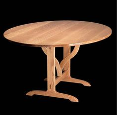 free woodworking plans for the Vineyard Table
