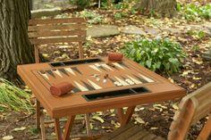 Portable games table