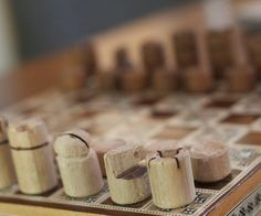 Chess Pieces from 1 Dowel