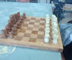 DIY Chess Board