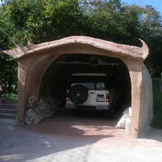 Cement Dome Garage
