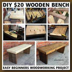 Create a Wooden Bench