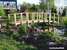 Pond Bridge - Garden Bridge Plan