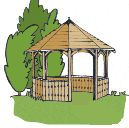 Free Plans, octagonal eight sided gazebo project