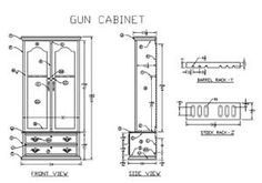 Plans Simple Gun Cabinet Plans Diy Free Download Wooden Napkin
