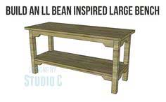 Build an LL Bean Inspired Bench
