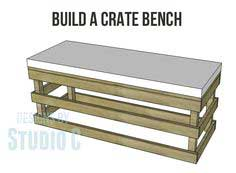 Build a Crate Bench