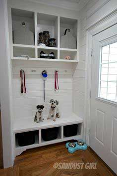 Storage Bench and Cabinets