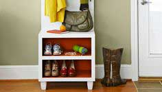 Entry Organizer Bench