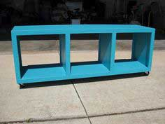 Rolling Cubby Bench