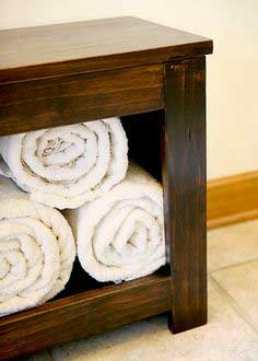 Build a Spa Bench