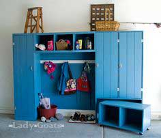 Family Entryway Mudroom System