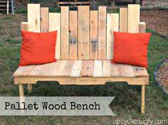 How-To: Pallet Wood Bench