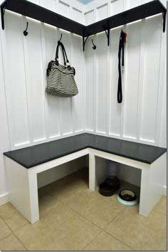 mudroom bench DIY tutorial